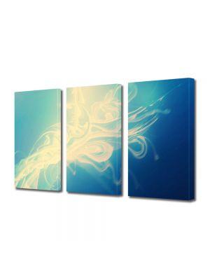 Set Tablouri Multicanvas 3 Piese Abstract Decorativ Zana