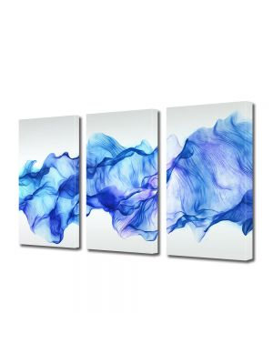 Set Tablouri Multicanvas 3 Piese Abstract Decorativ Timp oprit
