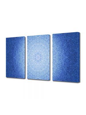 Set Tablouri Multicanvas 3 Piese Abstract Decorativ Model subtil