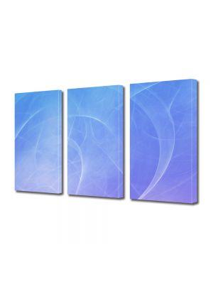Set Tablouri Multicanvas 3 Piese Abstract Decorativ Tornade