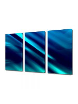 Set Tablouri Multicanvas 3 Piese Abstract Decorativ Labirint