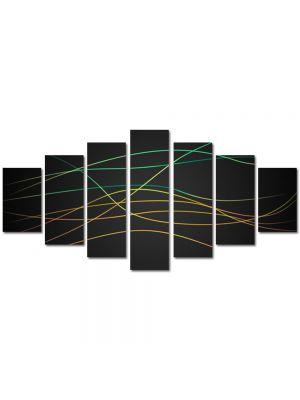 Set Tablouri Multicanvas 7 Piese Abstract Decorativ Dungi fine