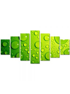 Set Tablouri Multicanvas 7 Piese Abstract Decorativ Stropi