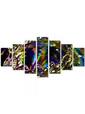 Set Tablouri Multicanvas 7 Piese Abstract Decorativ Strop