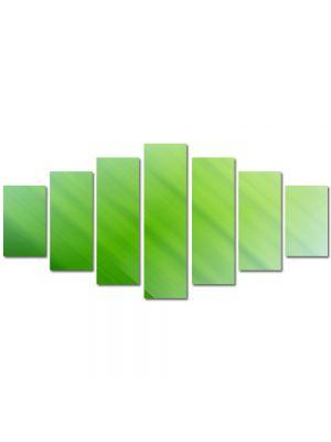 Set Tablouri Multicanvas 7 Piese Abstract Decorativ Verzui