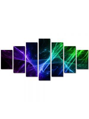 Set Tablouri Multicanvas 7 Piese Abstract Decorativ Energii pozitive