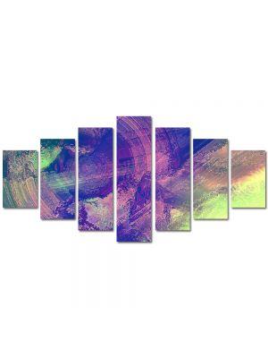 Set Tablouri Multicanvas 7 Piese Abstract Decorativ Sters