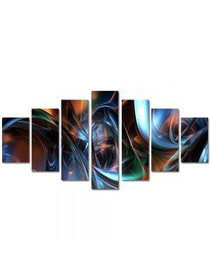 Set Tablouri Multicanvas 7 Piese Abstract Decorativ Arta plastica