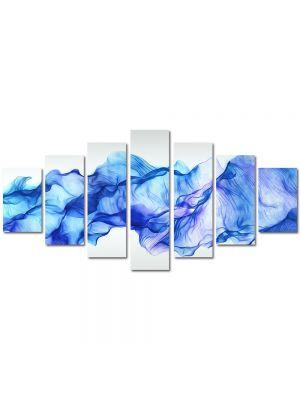 Set Tablouri Multicanvas 7 Piese Abstract Decorativ Timp oprit