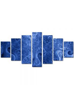 Set Tablouri Multicanvas 7 Piese Abstract Decorativ Model vintage
