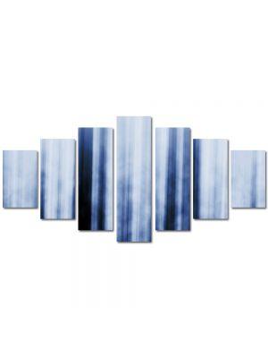 Set Tablouri Multicanvas 7 Piese Abstract Decorativ Fascicule luminoase