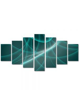 Set Tablouri Multicanvas 7 Piese Abstract Decorativ Dare de lumina