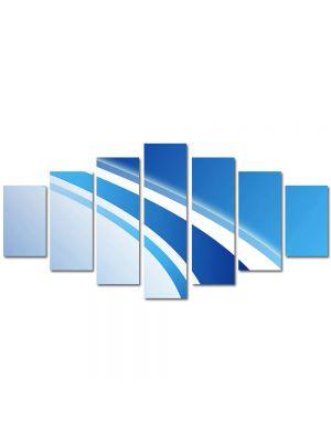 Set Tablouri Multicanvas 7 Piese Abstract Decorativ Logo