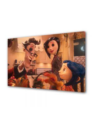 Tablou VarioView LED Animatie pentru copii Parintii si Coraline