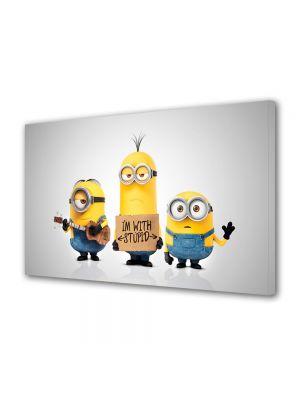 Tablou Canvas pentru Copii Animatie Minionii 2015