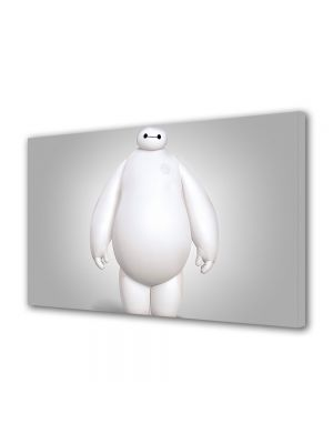 Tablou VarioView MoonLight Fosforescent Luminos in intuneric Animatie pentru copii Big Hero 6 Baymax cel mare si alb