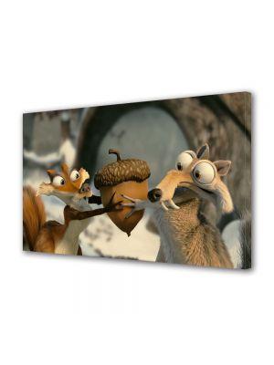 Tablou Canvas pentru Copii Animatie Ice Age Dawn of the Dinosaurs 2