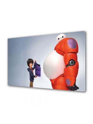 Tablou VarioView MoonLight Fosforescent Luminos in intuneric Animatie pentru copii Big Hero 6
