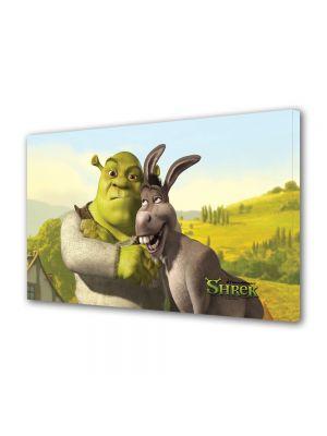 Tablou VarioView MoonLight Fosforescent Luminos in intuneric Animatie pentru copii Shrek si Donkey Ultimul Capitol