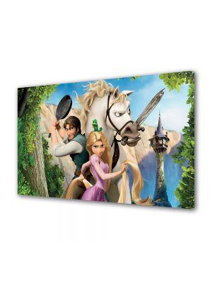 Tablou Canvas pentru Copii Animatie Tangled Personaje