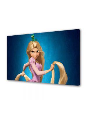 Tablou Canvas pentru Copii Animatie Tangled Printesa