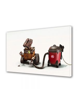 Tablou Canvas pentru Copii Animatie Robotel la treaba