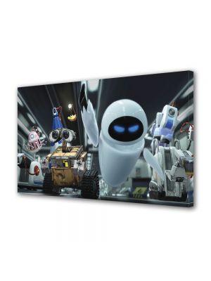 Tablou Canvas pentru Copii Animatie WallE si Eve