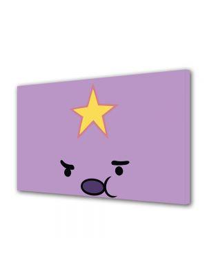 Tablou Canvas pentru Copii Animatie Adventure Time Jumpy Space Princess