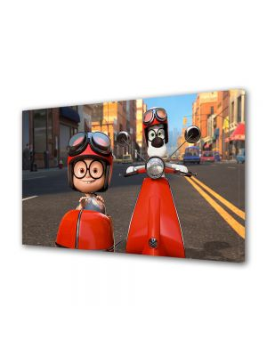 Tablou VarioView LED Animatie pentru copii Mr Peaboy si Sherman 2014