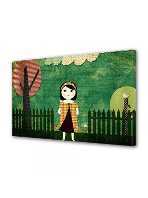 Tablou Canvas pentru Copii Animatie Dupa amiaza in parc