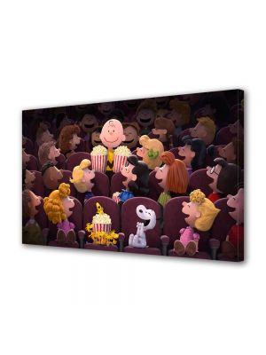 Tablou Canvas pentru Copii Animatie The Peanuts Cinema 2015