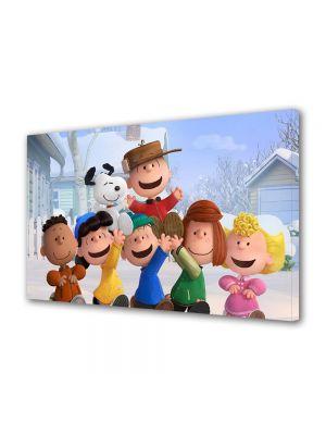 Tablou VarioView LED Animatie pentru copii The Peanuts Gasca Vesela