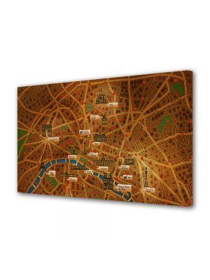 Tablou Canvas pentru Copii Animatie Paris