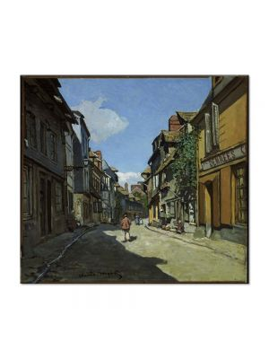 Tablou Arta Clasica Pictor Claude Monet The La Rue Bavolle at Honfleur 1864 80 x 90 cm