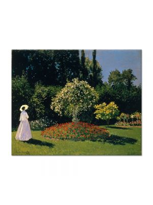Tablou Arta Clasica Pictor Claude Monet Jeanne-Marguerite Lecadre in the Garden 1866 80 x 100 cm