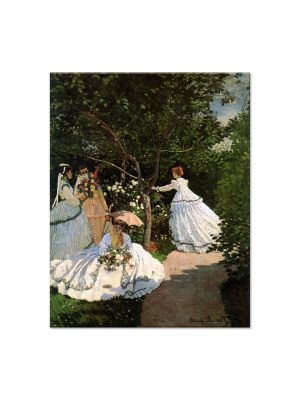 Tablou Arta Clasica Pictor Claude Monet Women in the garden 1866 80 x 100 cm