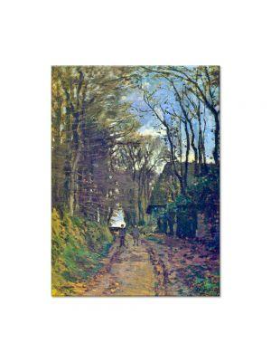Tablou Arta Clasica Pictor Claude Monet Lane in Normandy 1868 80 x 100 cm