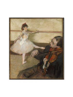 Tablou Arta Clasica Pictor Edgar Degas The Dance Lesson 1879 80 x 90 cm