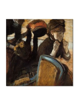 Tablou Arta Clasica Pictor Edgar Degas At the Milliners 1883 80 x 80 cm
