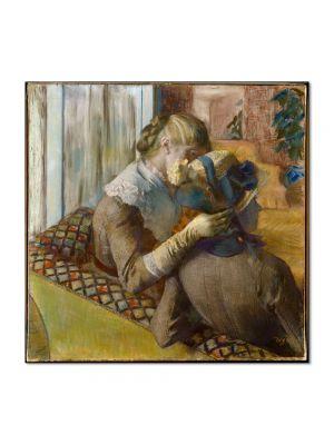 Tablou Arta Clasica Pictor Edgar Degas At the Milliners 1881 80 x 80 cm