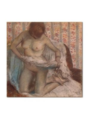 Tablou Arta Clasica Pictor Edgar Degas Toilet of a Woman 1884 80 x 80 cm