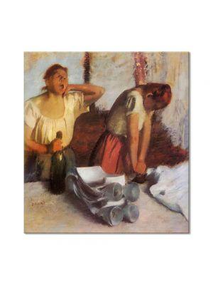Tablou Arta Clasica Pictor Edgar Degas Laundry Girls Ironing 1884 80 x 90 cm