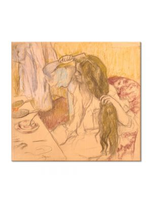 Tablou Arta Clasica Pictor Edgar Degas Toilet of a Woman 1889 80 x 90 cm
