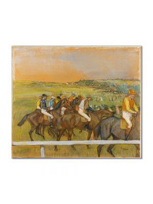 Tablou Arta Clasica Pictor Edgar Degas Before the Race 1885 80 x 90 cm