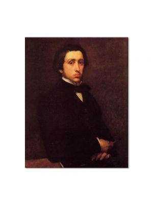 Tablou Arta Clasica Pictor Edgar Degas Self Portrait 1855 80 x 100 cm