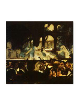 Tablou Arta Clasica Pictor Edgar Degas Ballet Scene from Robert la Diable 1872 80 x 90 cm