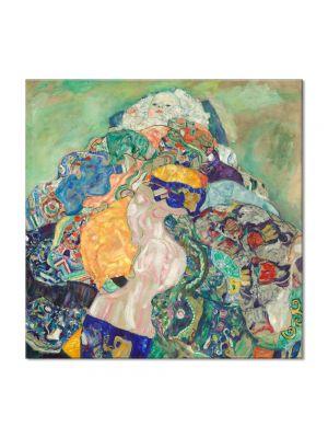 Tablou Arta Clasica Pictor Gustav Klimt The Women Friends 1917 80 x  80 cm