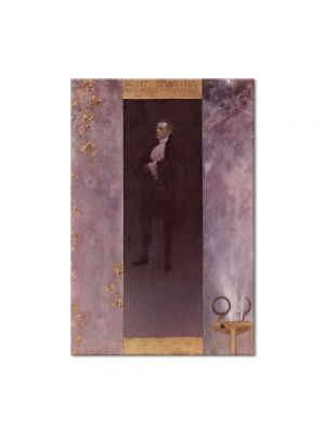 Tablou Arta Clasica Pictor Gustav Klimt Actor Josef Lewinsky as Carlos 1895 80 x 120 cm