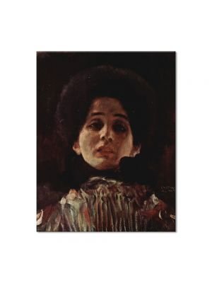 Tablou Arta Clasica Pictor Gustav Klimt Nuda Veritas 1899 40 x 160 cm