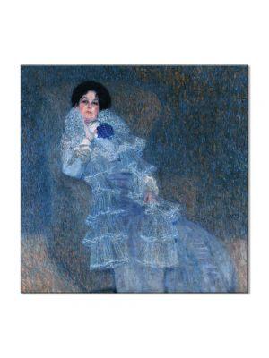 Tablou Arta Clasica Pictor Gustav Klimt Buchenhain 1902 80 x  80 cm